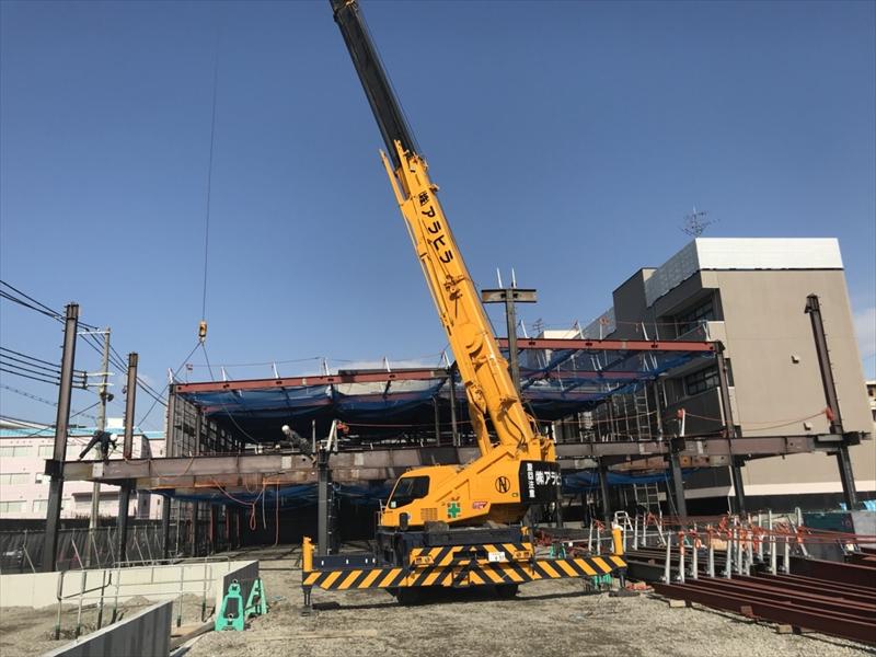 鉄骨建方・鍛冶工事・鋼製床板の専門会社『株式会社田中工業』